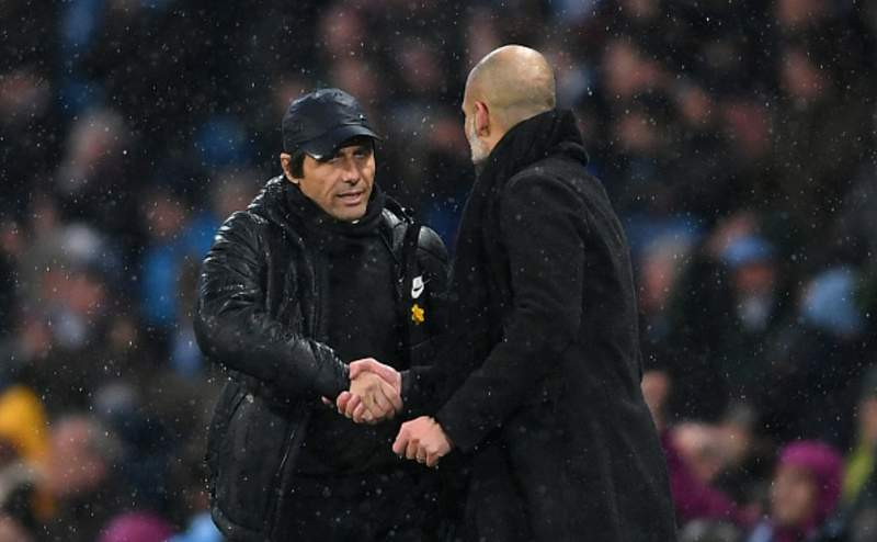 Conte vs Guardiola, Manchester City
