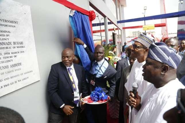 President-Muhammadu-Buhari-commissions-Ikeja-Bus-Terminal-