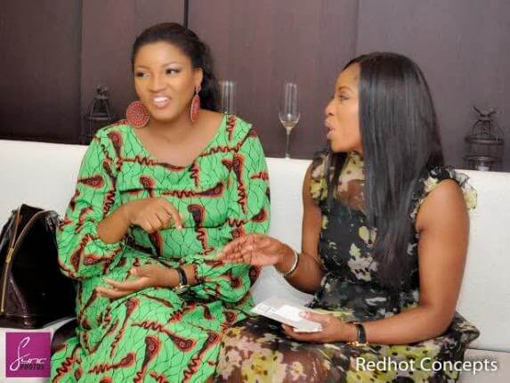 omotola and Mo Abudu