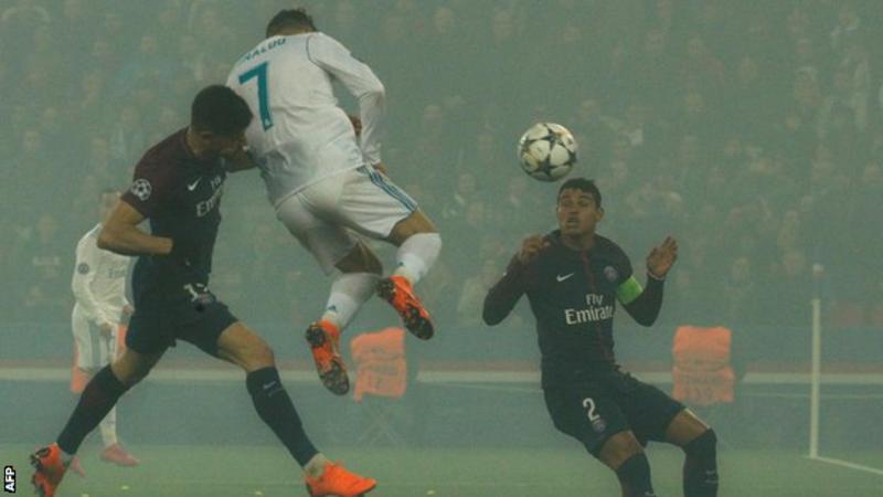 Ronaldo Scores against for Madrid PSG