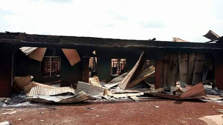 Army Burn house in benue