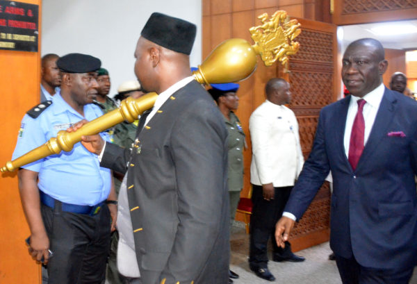 Senate continues plenary with a new Mace in Abuja