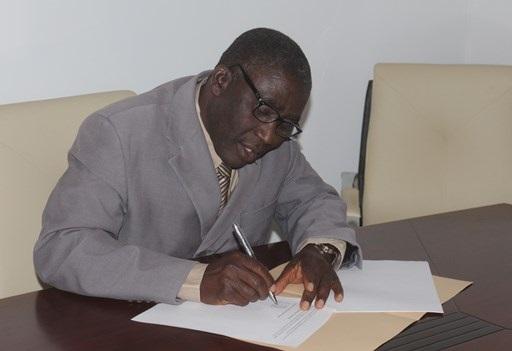 CAN Gen Sec Musa Ake
