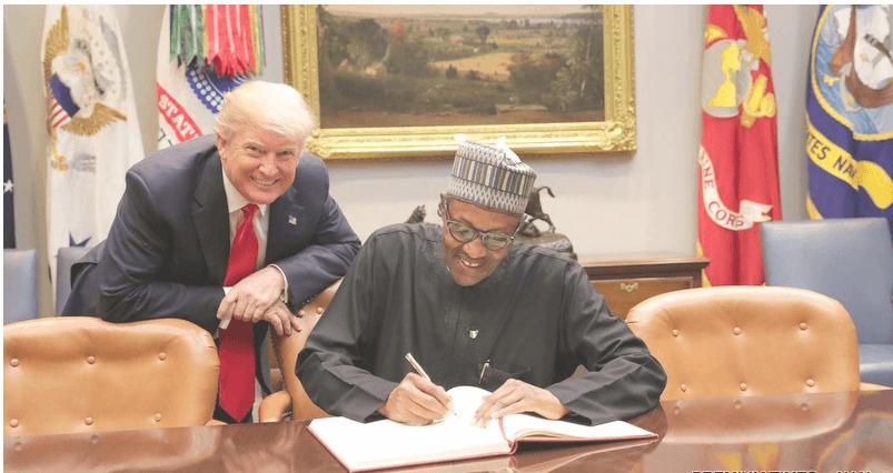 Trump-Buhari, U.S.