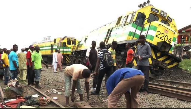 Train, accident, Kano,