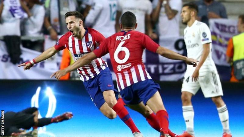 Atletico, 5-2 Real Madrid, UEFA Super Cup