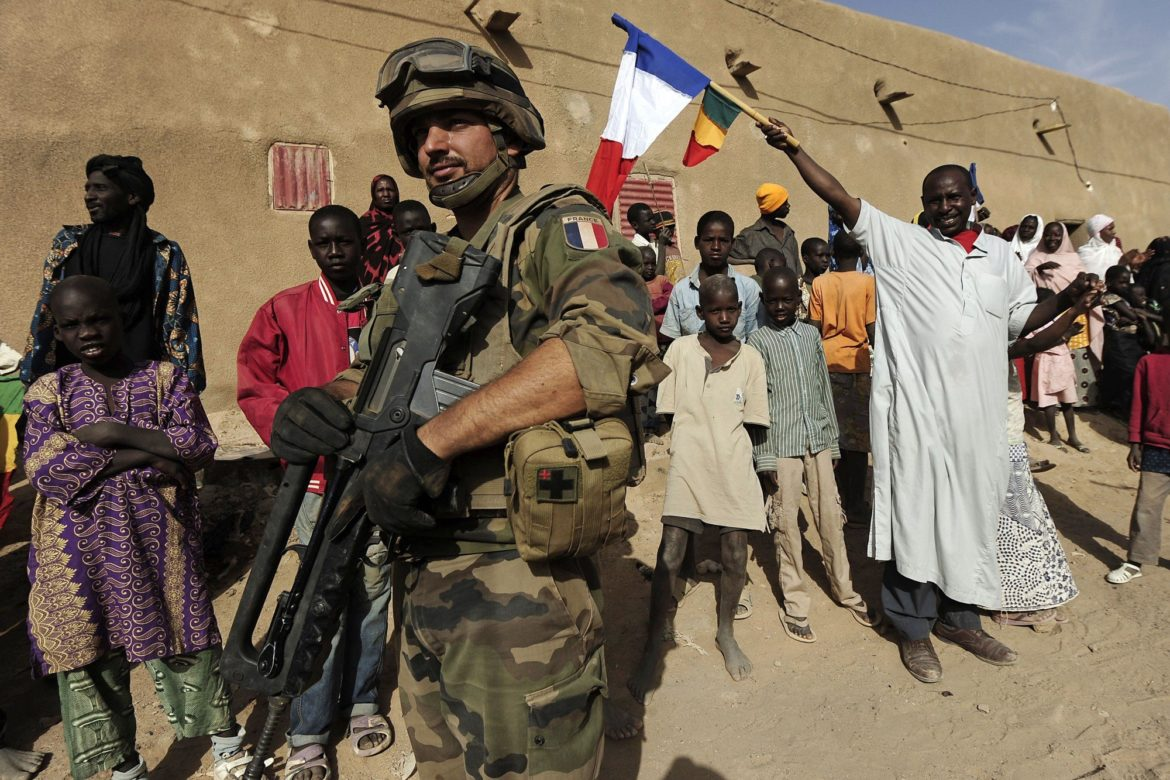 French troop in Mali