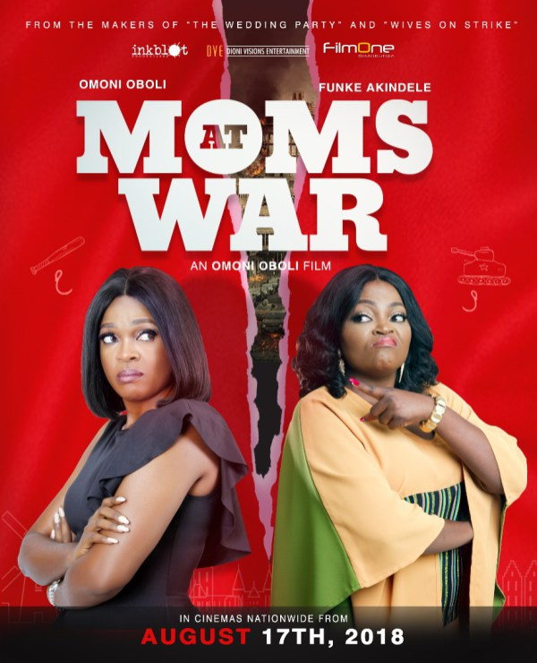Funke Akindele, Omoni Oboli, Moms At War
