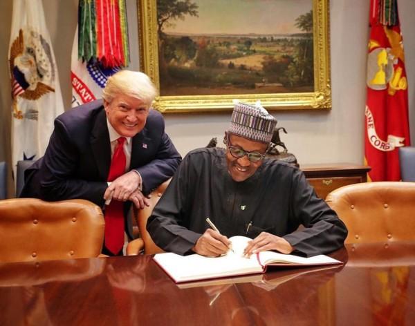 Boko Haram War, Trump, Nigeria, USA, Buhari, America,