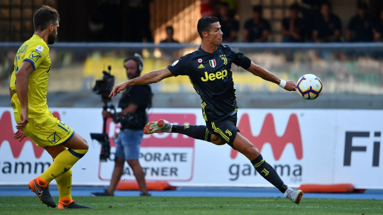 UEFA, Cristiano Ronaldo Chievo Juventus serie a