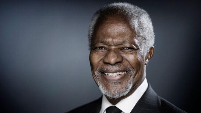 Kofi Annan, UN, Ghana