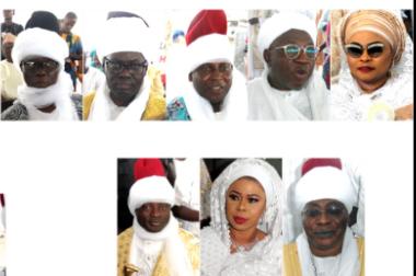 50 Prominent Lagosians, Muslim Titles