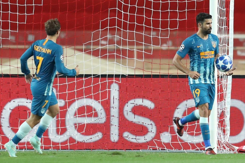 Diego Costa, Griezmann, Atletico Madrid
