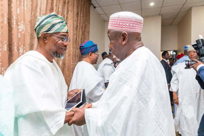 Ganduje and Aregbesola
