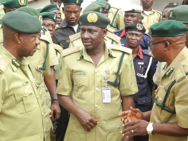 Nigeria Prisons Service officers
