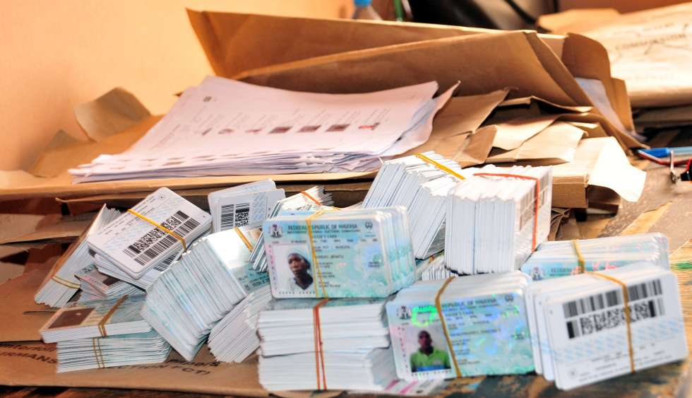 Permanent Voter's Cards, PVCs, INEC, NIS,