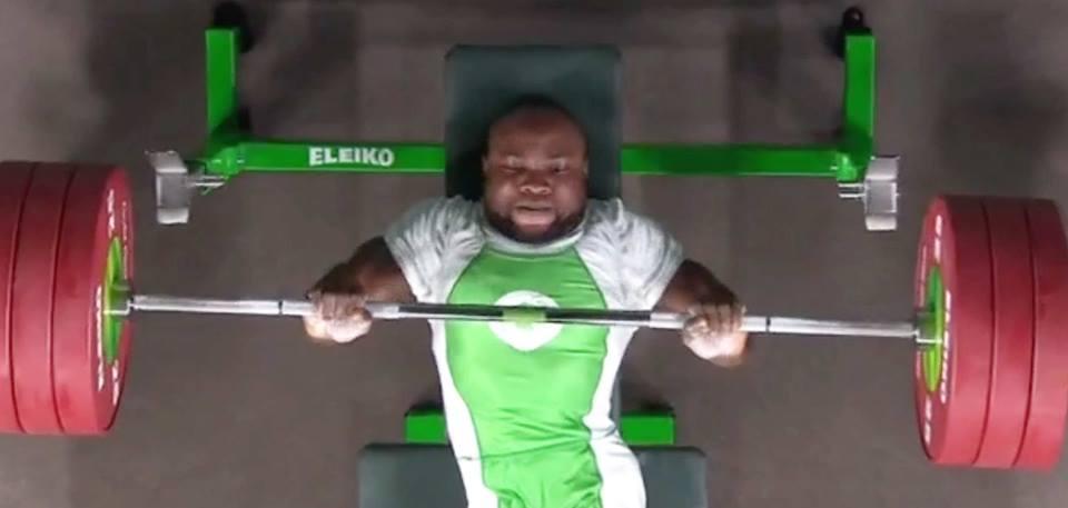 Roland-Ezuruike, Para Powerlifter