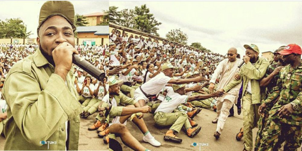 davido nysc members seated camp