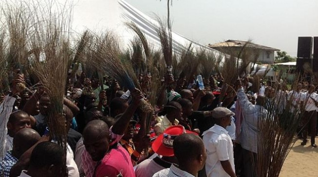 APC Youths Protest