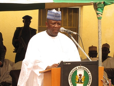 Abdulaziz-Yari, Governor, NGF, Journalists