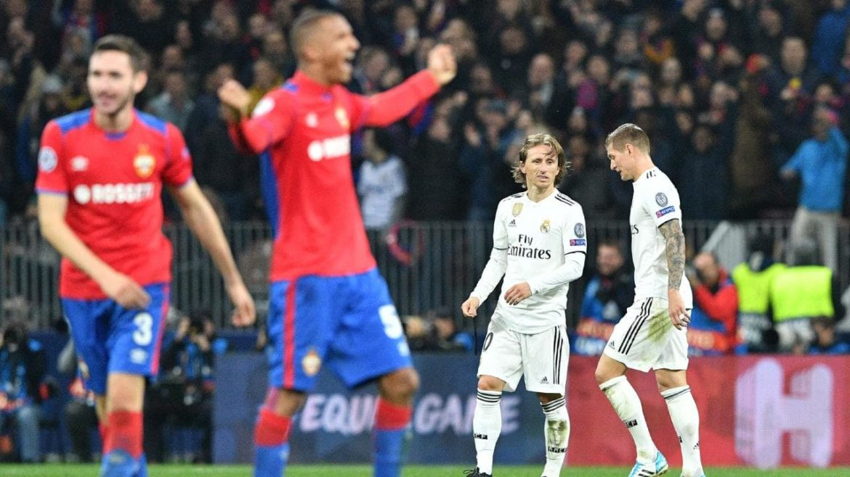 CSKA MOSCOW vs Real Madrid 1-0