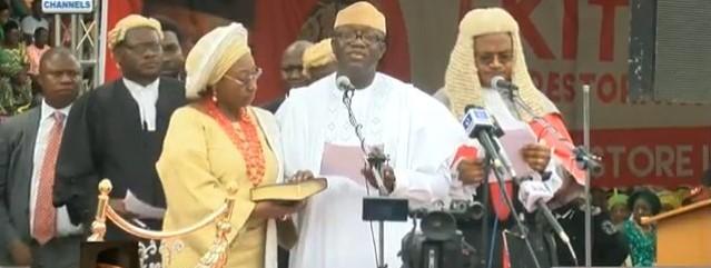 Kayode Fayemi Swearing-In, Ekiti state Governor