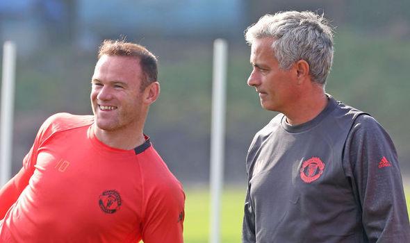 Jose Mourinho, Wayne Rooney, Manchester United