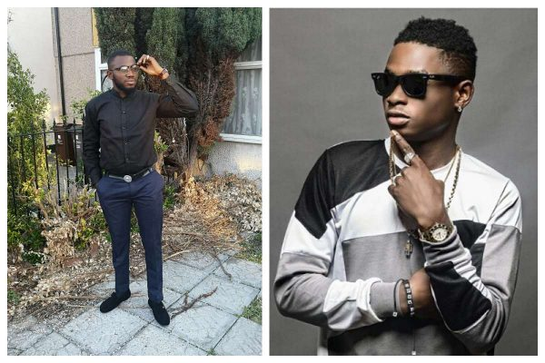 Lil Kesh, manager Wale Applause