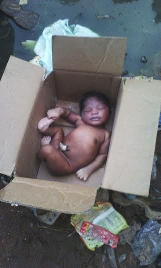 Aandoned Baby, Anambra, Police