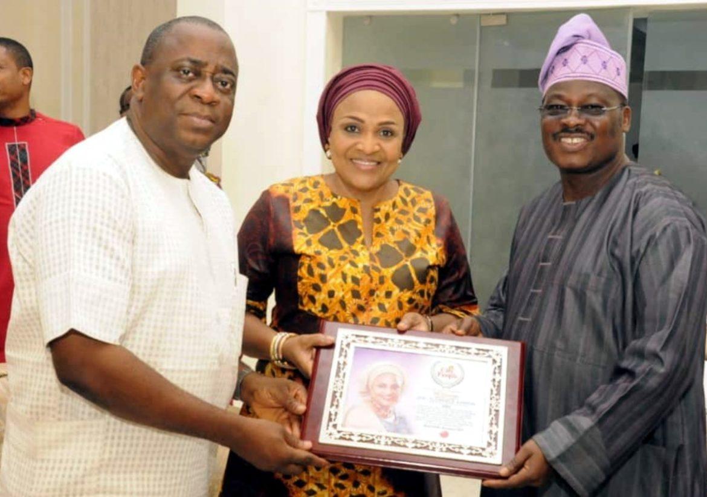 Oyo 1st lady, City People, Mrs Florence Ajimobi