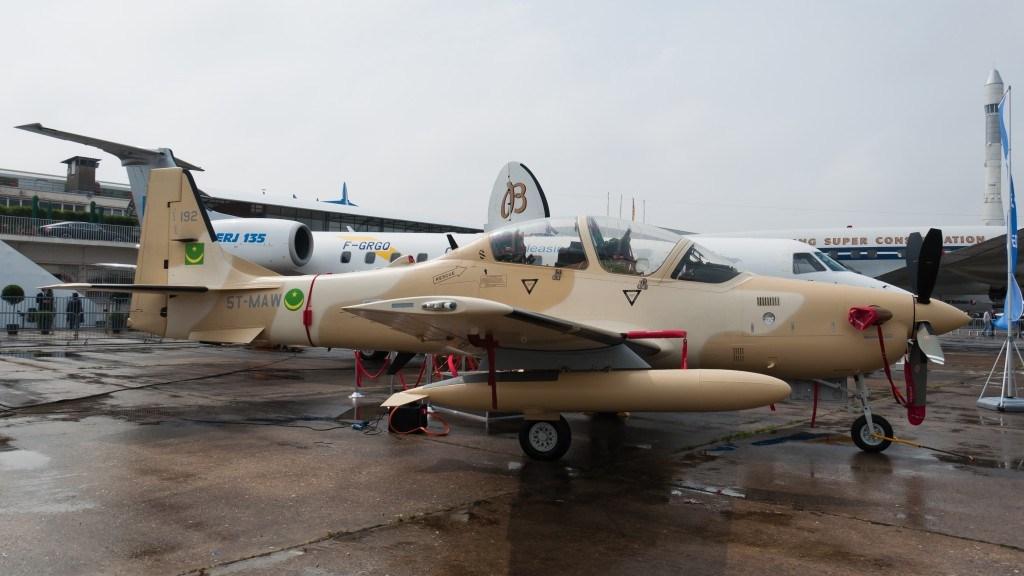 Super Tucano aircraft,
