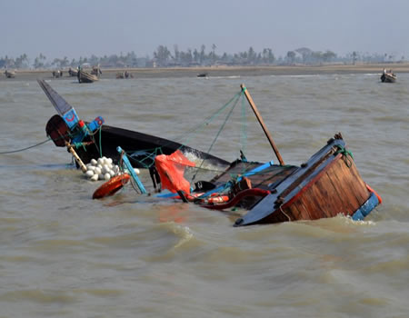 boat capsized, Lagos