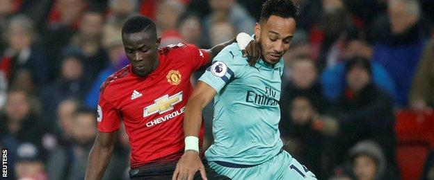 Eric Baily, Manchester United, Arsenal, Aubameyang,