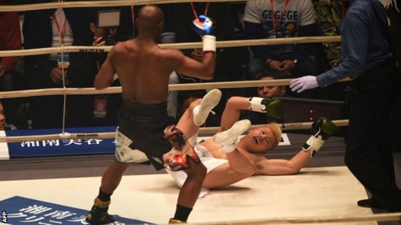 Tenshin Nasukawa, Floyd Mayweather,