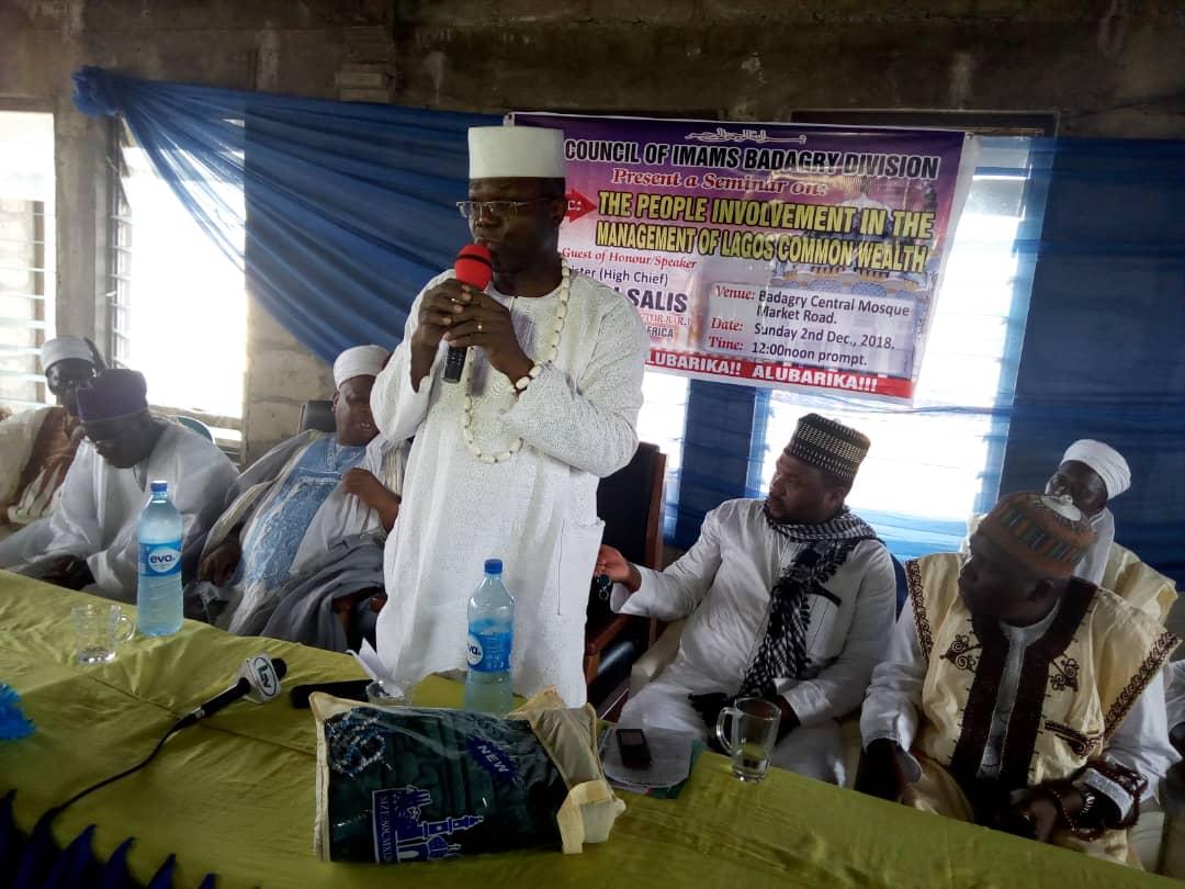 High Chief Owolabi Salis, Badagry