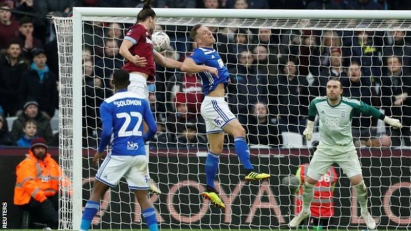 Andy Carroll, Birmingham, Reading, FA Cup