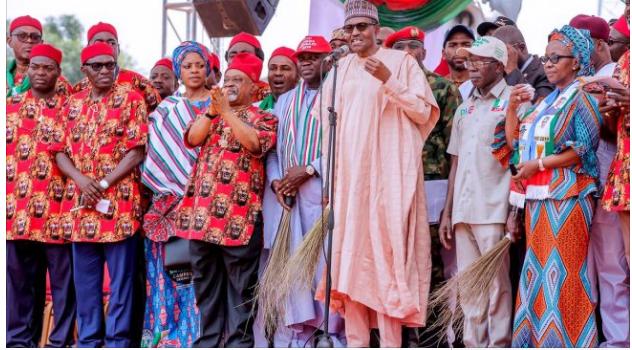 Buhari, Southeast Campaign, Igbos