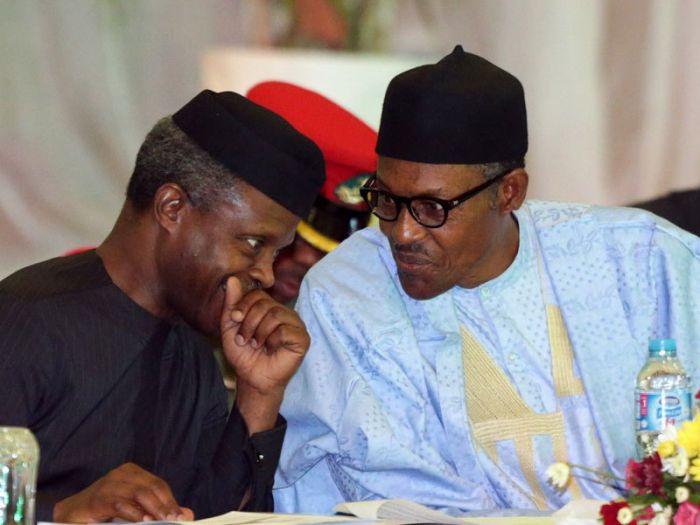 Buhari, Osinbajo, Minimum Wage, NLC,