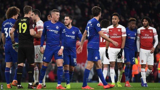 Chelsea, Arsenal, Mauruzio Sarri,