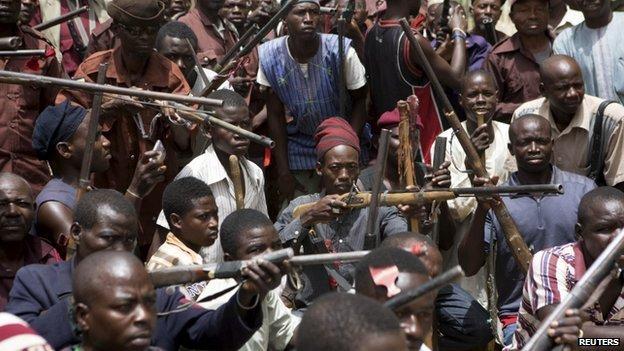 Civilian JTF, Boko Haram, Borno,