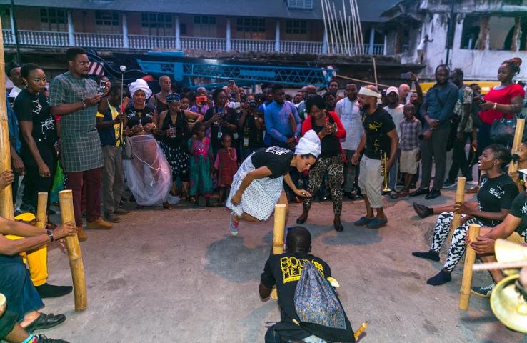 DanceGathering, Lagos,
