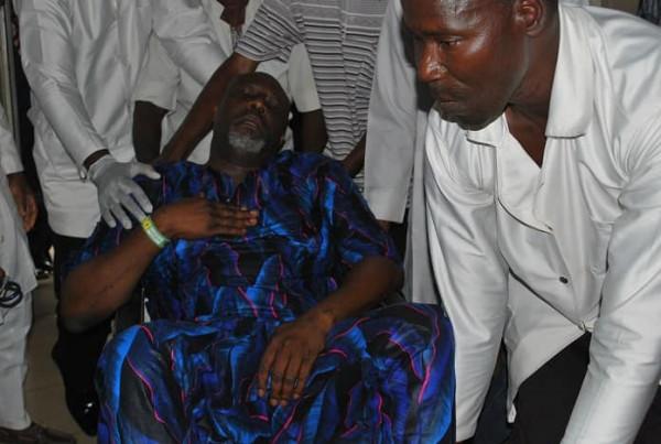 DSS, Dino Melaye, Abuja Hospital, Police,