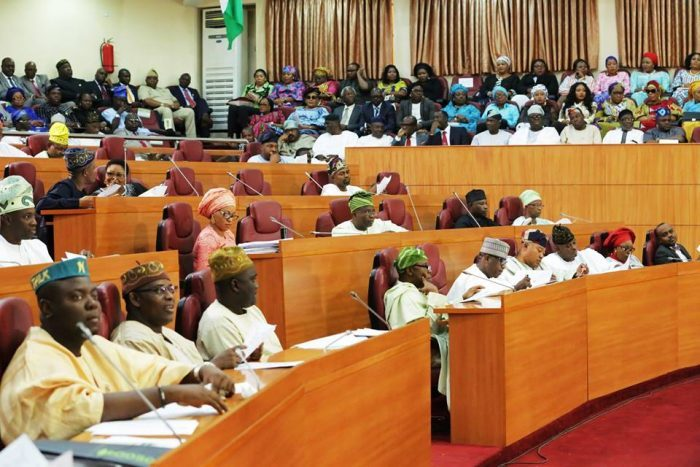 Lagos Assembly, Lawmakers, Gov Ambode,