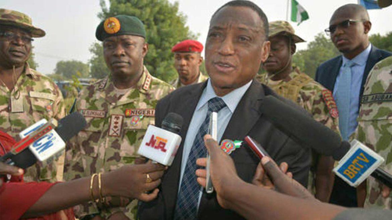 Minister of Defence Brig Gen Mansur Dan Ali rtd