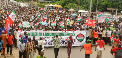 Chris Ngige, NLC, Protest, Minimum wage, Labour Minister,