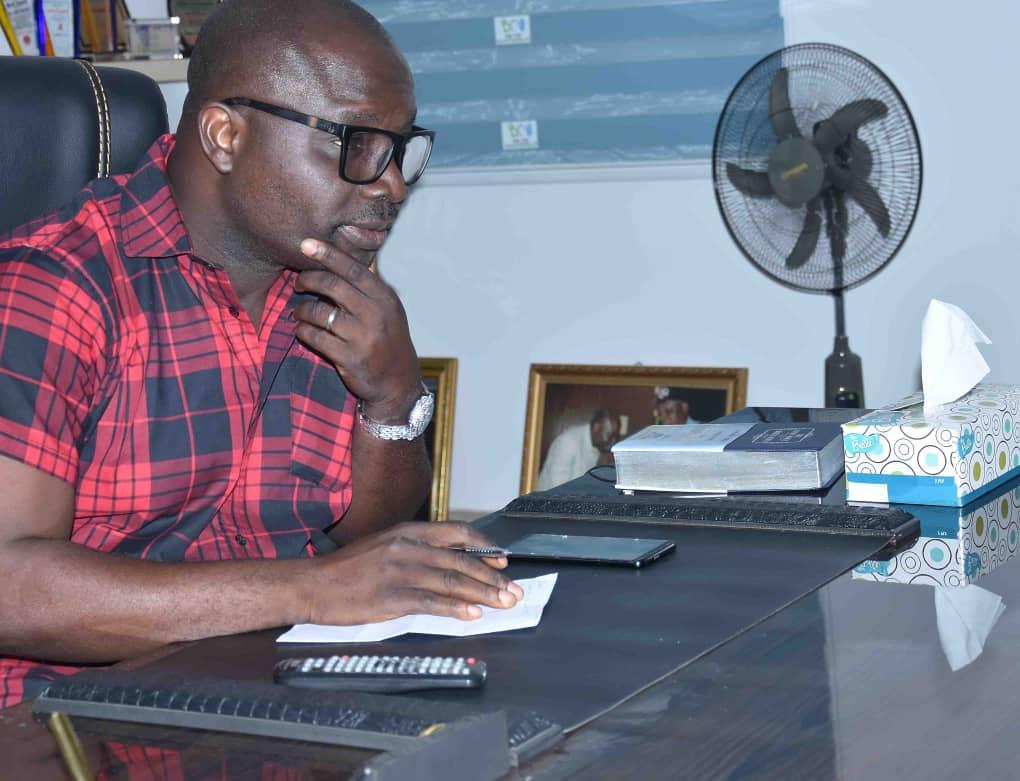 Yemi Sonde, New Broadcasting House, Ibadan,