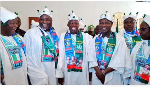 APC, Kano, Ganduje, INEC, Niger Governors,