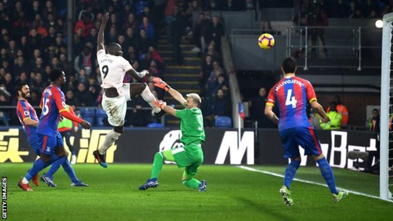 Lukaku, Manchester United, Crystal Palace,
