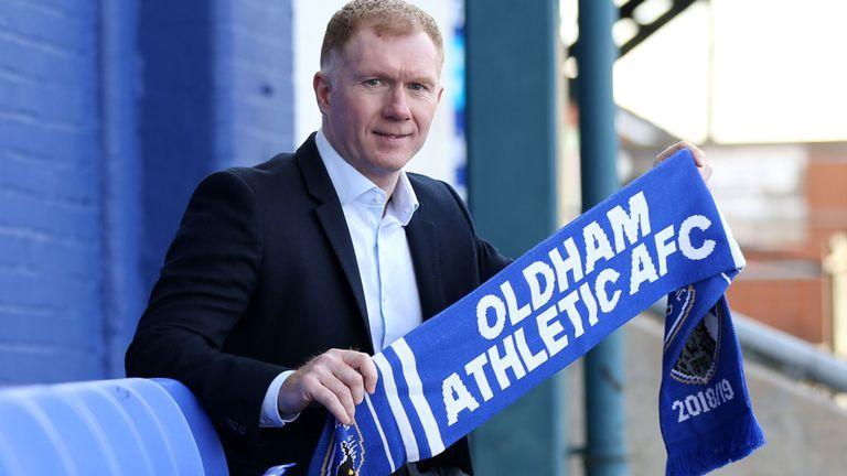 Paul Scholes, Oldham Athletic,