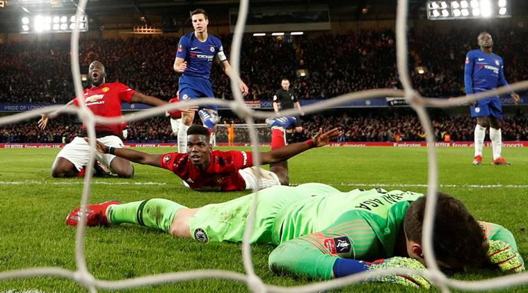 Pogba, Manchester United, Chelsea, FA Cup, Sarri